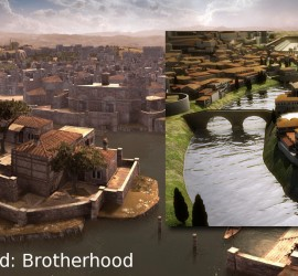 Tiber Island in Virtual Forms