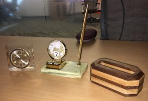 Classic desk items