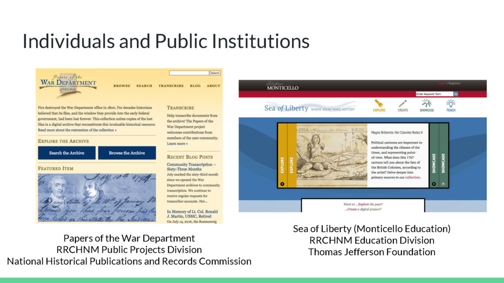 Individuals and Public Institutions Image One