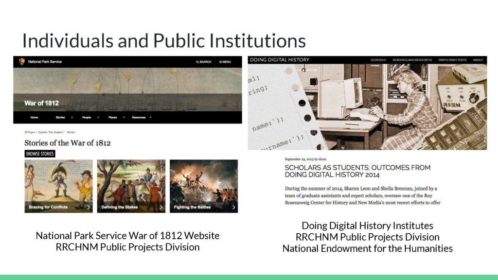 Individuals and Public Institutions Image Two