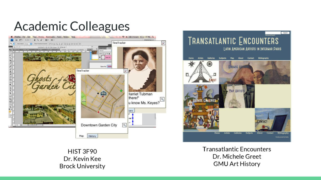 Academic Colleagues Examples 2