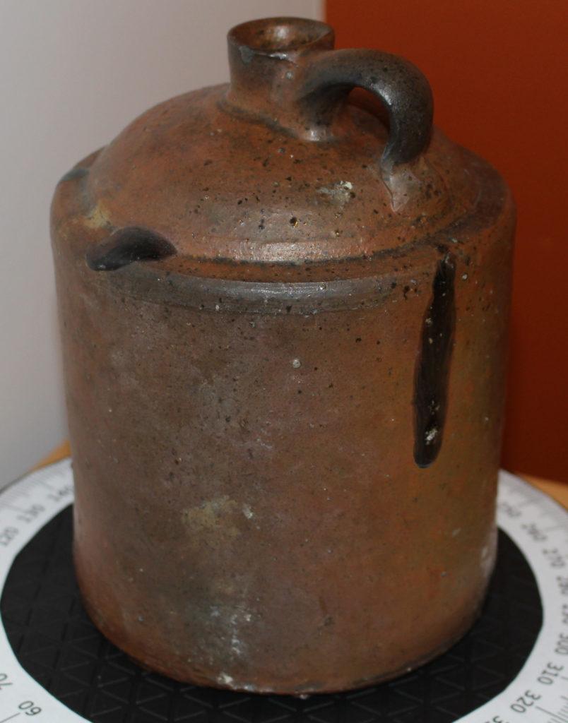 image of clay whisky jug